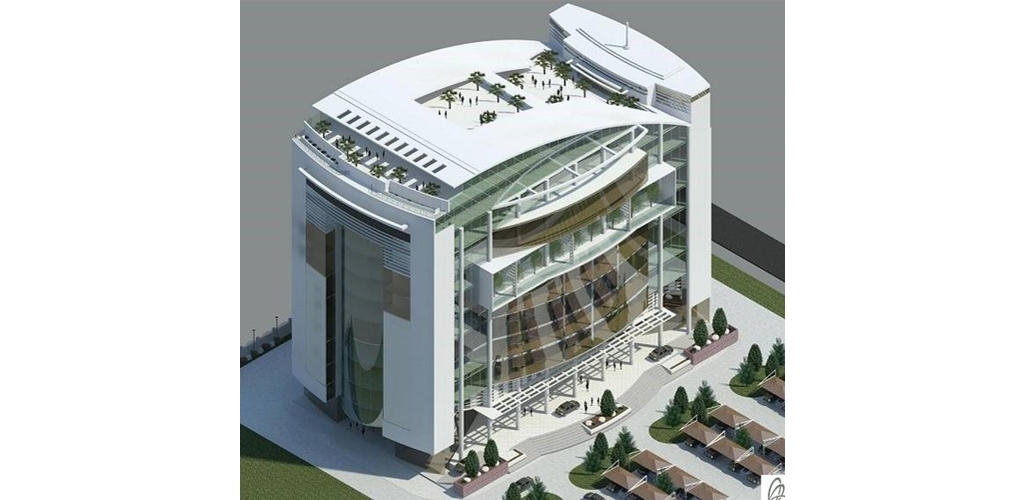 11 floor commercial building design proposal ato architects for Architectural commercial design